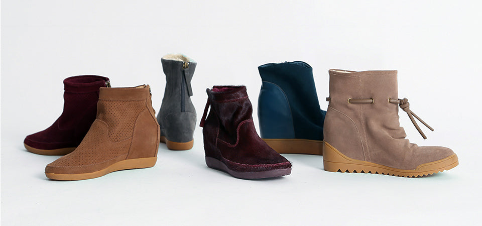 Shop women's wedge sneakers and boots online | shoethebear.com