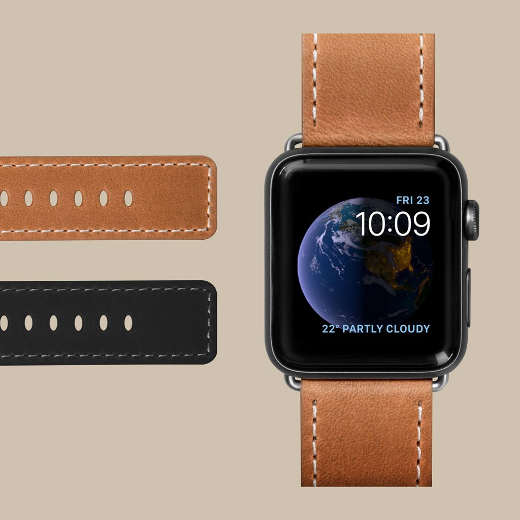 LAUT-Safari Watch Strap for Apple Watch Series 1/2/3/4-Watch Strap-For Apple Watch Series 1/2/3/4