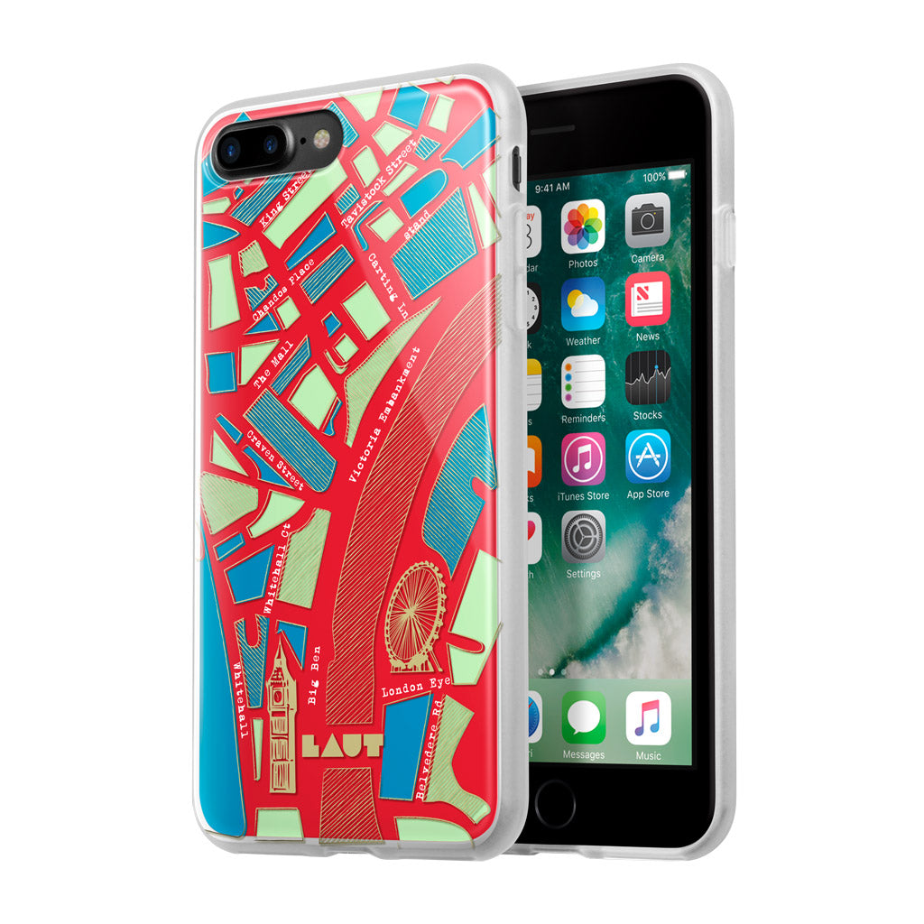 LAUT-NOMAD London-Case-For iPhone 8 Plus