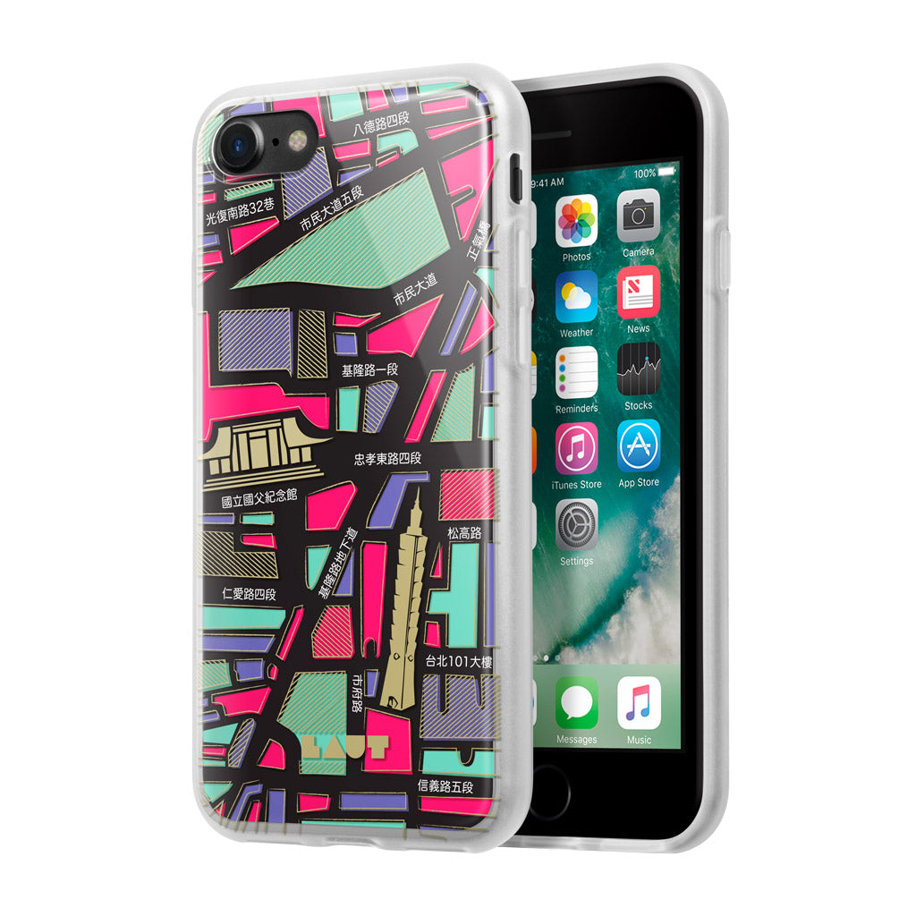 LAUT-NOMAD Taipei for iPhone SE 2020 / iPhone 8/7-Case-For iPhone SE 2020/8/7