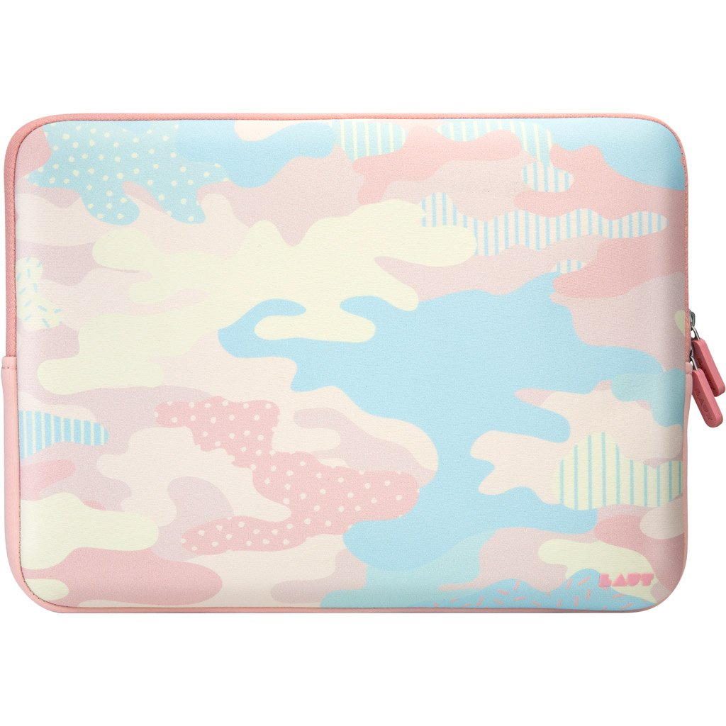 LAUT-POP CAMO - Pastel Protective Sleeve for MacBook 13-inch-Case-For MacBook 13""