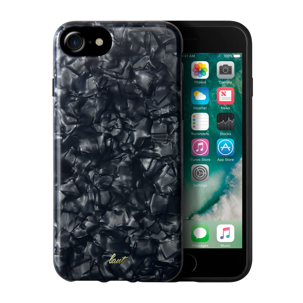 LAUT-POP BLACK PEARL for iPhone 8/7/6-Case-For iPhone 8