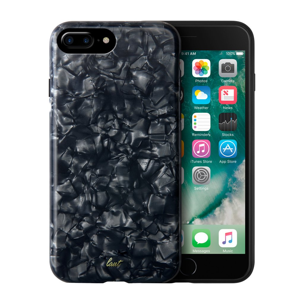 LAUT-POP BLACK PEARL for iPhone 8/7/6 Plus-Case-For iPhone 8 Plus