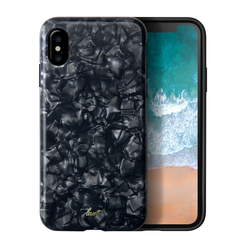 LAUT-POP BLACK PEARL for iPhone X-Case-For iPhone X