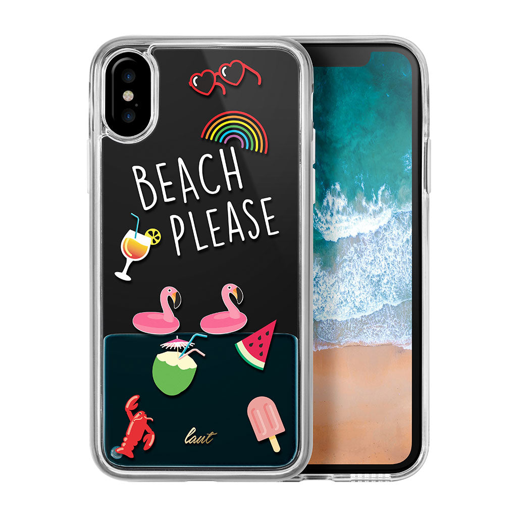 LAUT-POP BEACH PLEASE for iPhone X-Case-For iPhone X