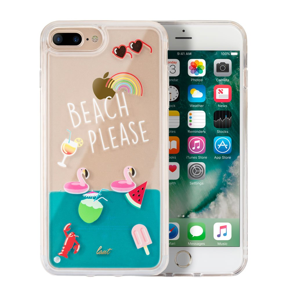 LAUT-POP BEACH PLEASE for iPhone 8/7/6s/6 Plus-Case-For iPhone 8/7/6s/6 Plus