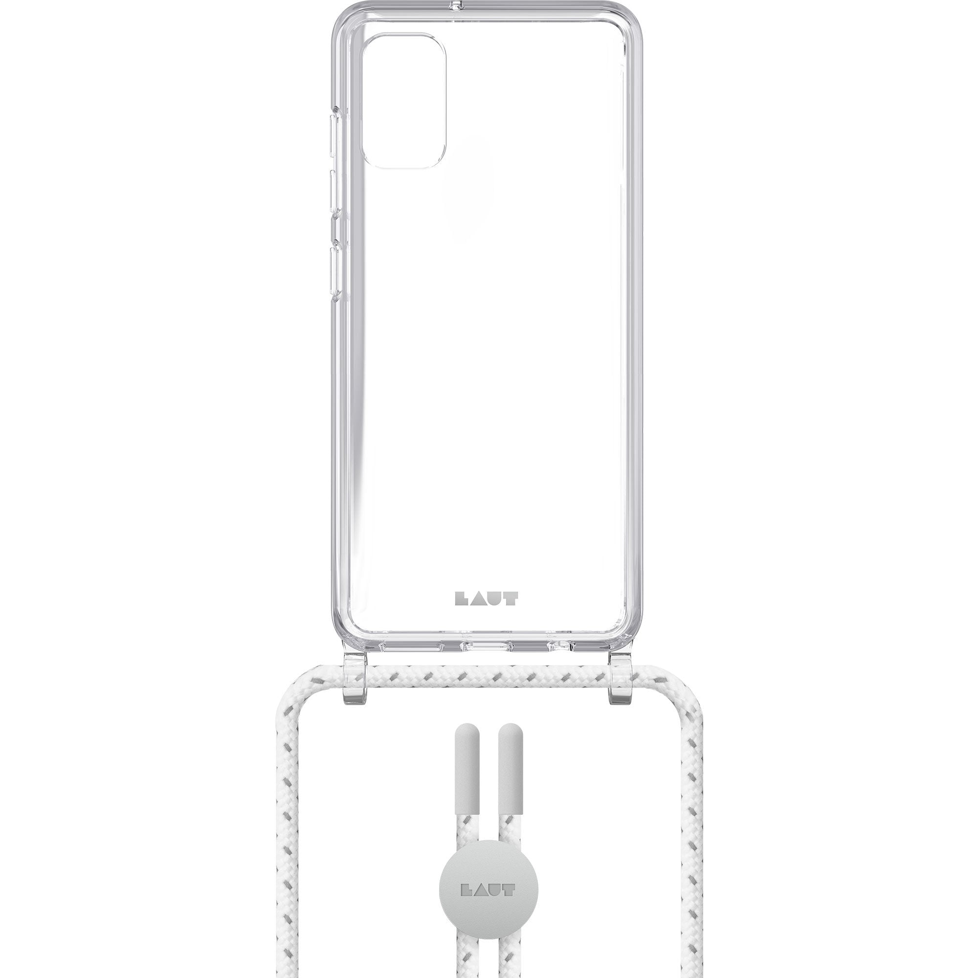 CRYSTAL-X NECKLACE case for Galaxy (A41 / A51) International Model
