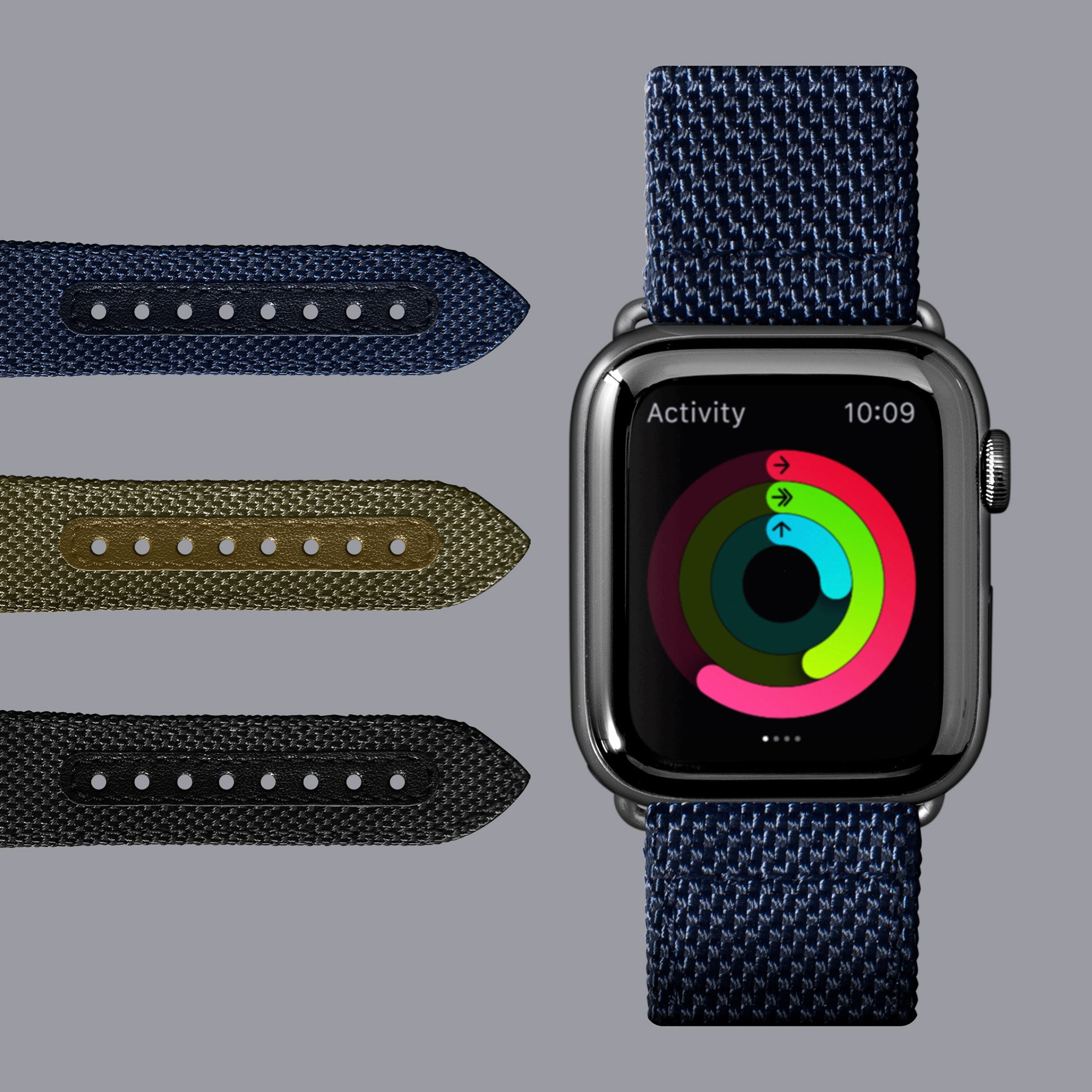 LAUT-Technical 2.0 Watch Strap for Apple Watch Series 1/2/3/4/5-Watch Strap-For Apple Watch Series 1/2/3/4/5
