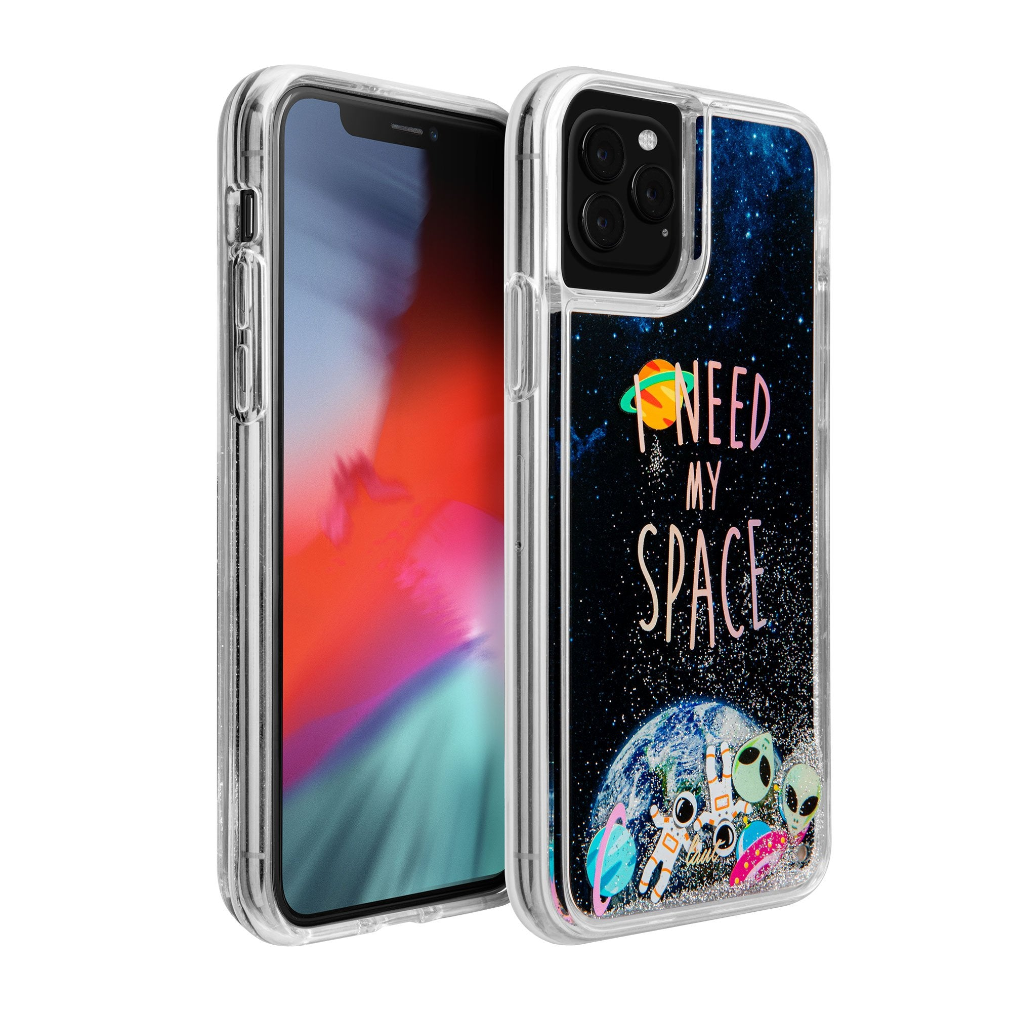 LAUT-GLITTER SPACE for iPhone 11 Series-Case-iPhone 11 / iPhone 11 Pro / iPhone 11 Pro Max
