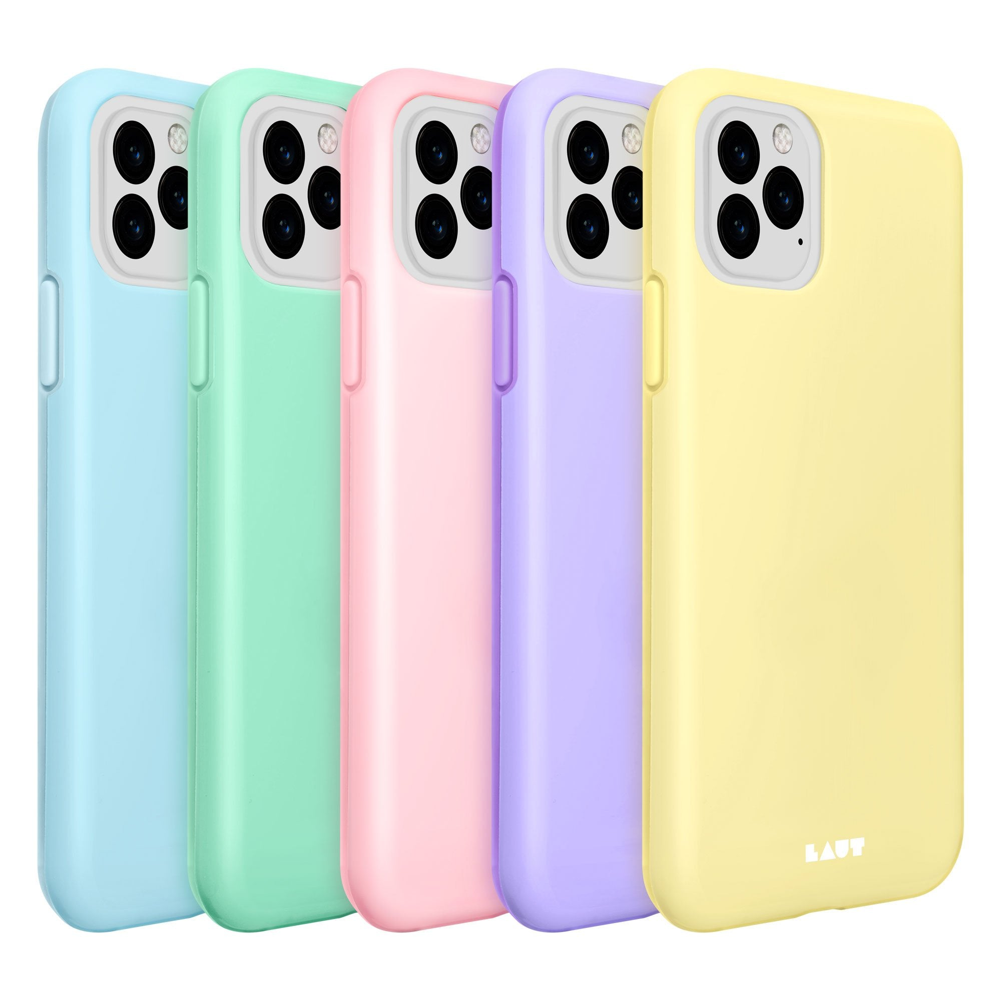 LAUT-HUEX PASTELS for iPhone 11 Series-Case-iPhone 11 / iPhone 11 Pro / iPhone 11 Pro Max