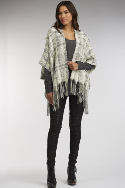Alpaca Shawl/Vest - wearable art