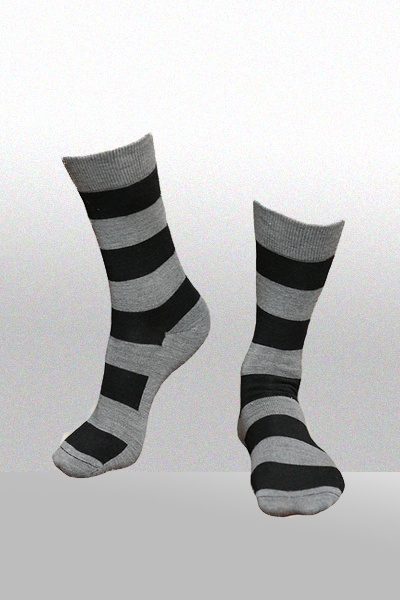 Women's Organic Merino Wool Sock - Striped