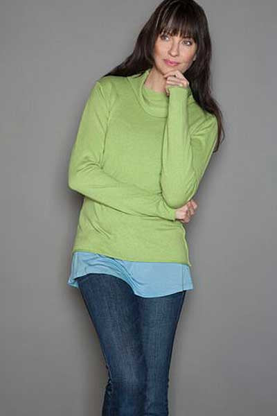 Cashmere Cowl Sweater - XS only