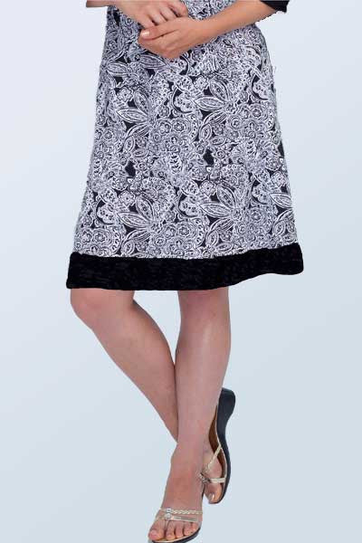 Organic Cotton skirt - tulip