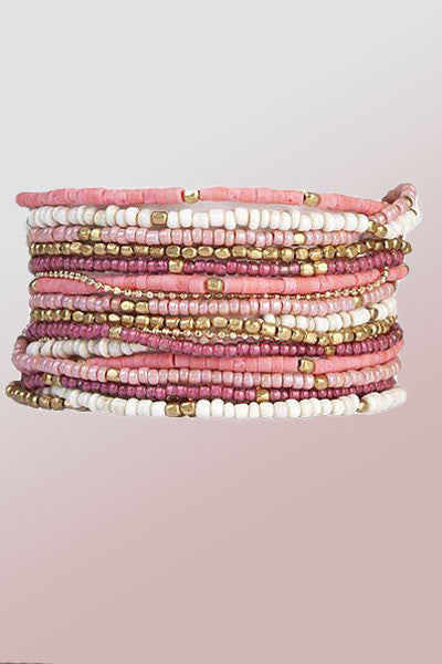 Beaded Necklace or Bracelet