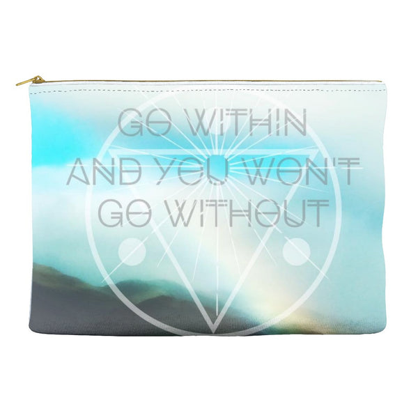 Go Within * Accessory Pouch for magical little things