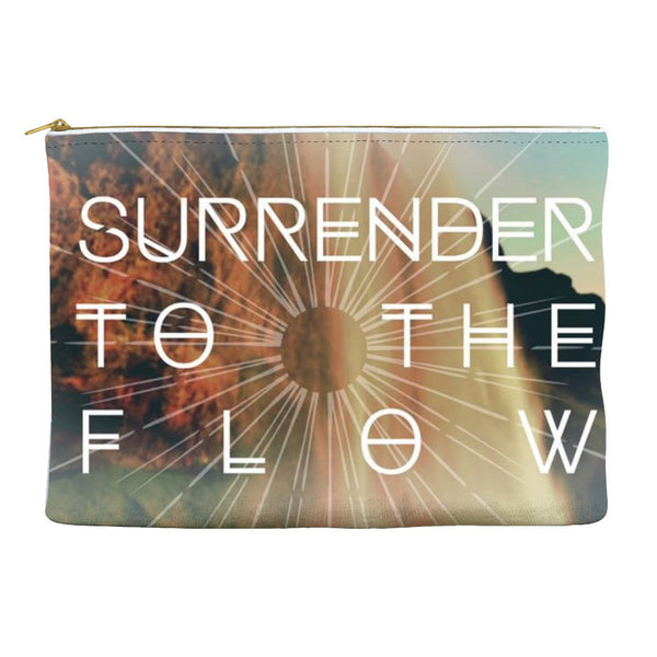 Surrender to the Flow * Accessory Pouch for your magical little things