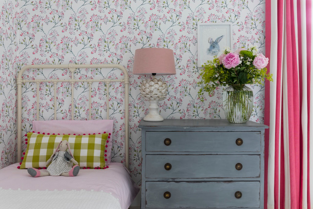 Floral Wallpaper, how to go from kitsch to class…
