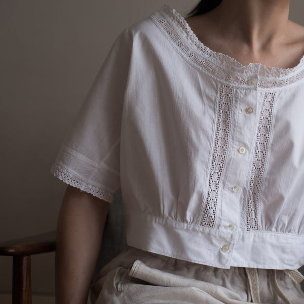 Vintage Top, old cotton, 20th century
