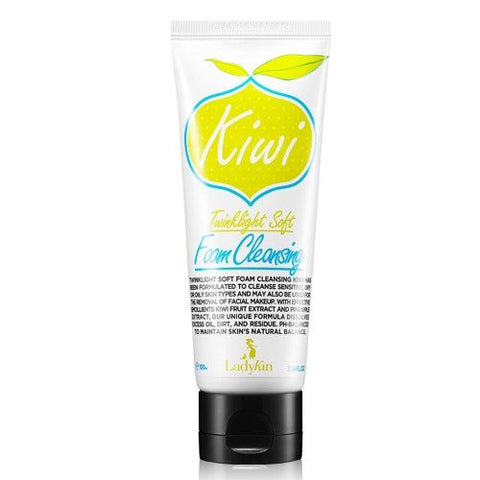 LadyKin Twinklight Soft Foam Cleansing Kiwi