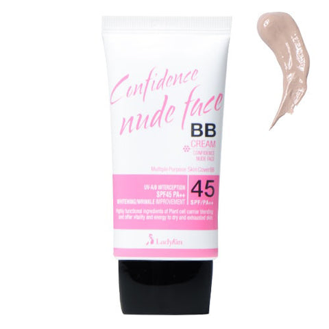 LadyKin Confidence Nude Face BB Cream SPF 45 PA++