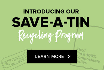 Save-A-Tin recycling program banner