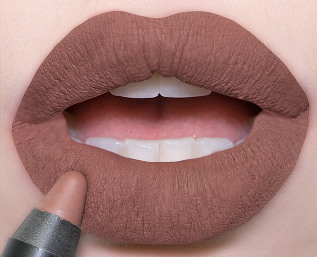 Nudestix Magnetic Matte Lip Color in Greystone swatch