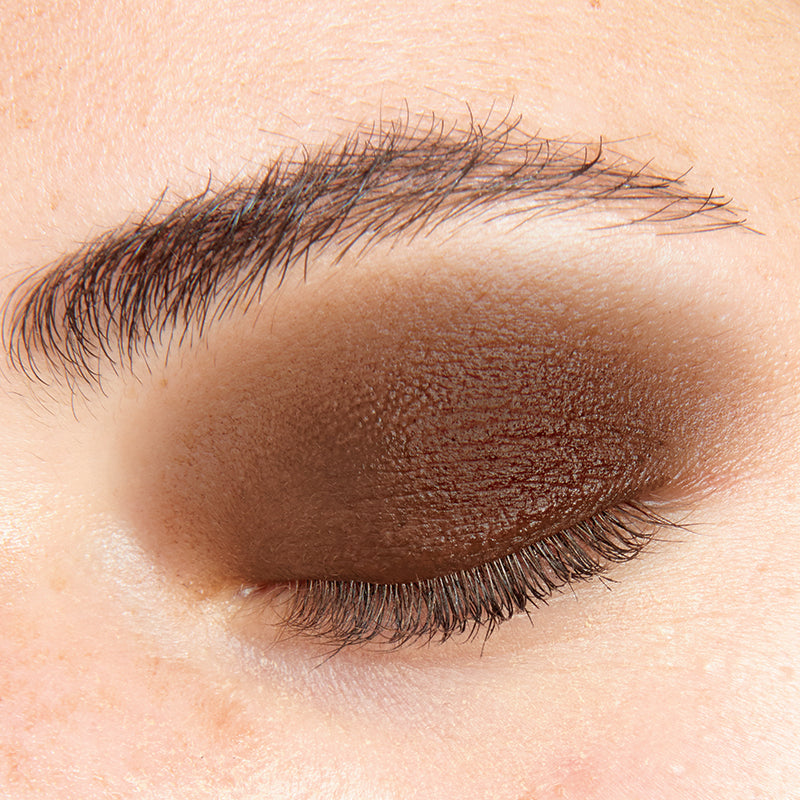 Person wearing Nudestix Magnetic Matte Eye Color in Army, Army