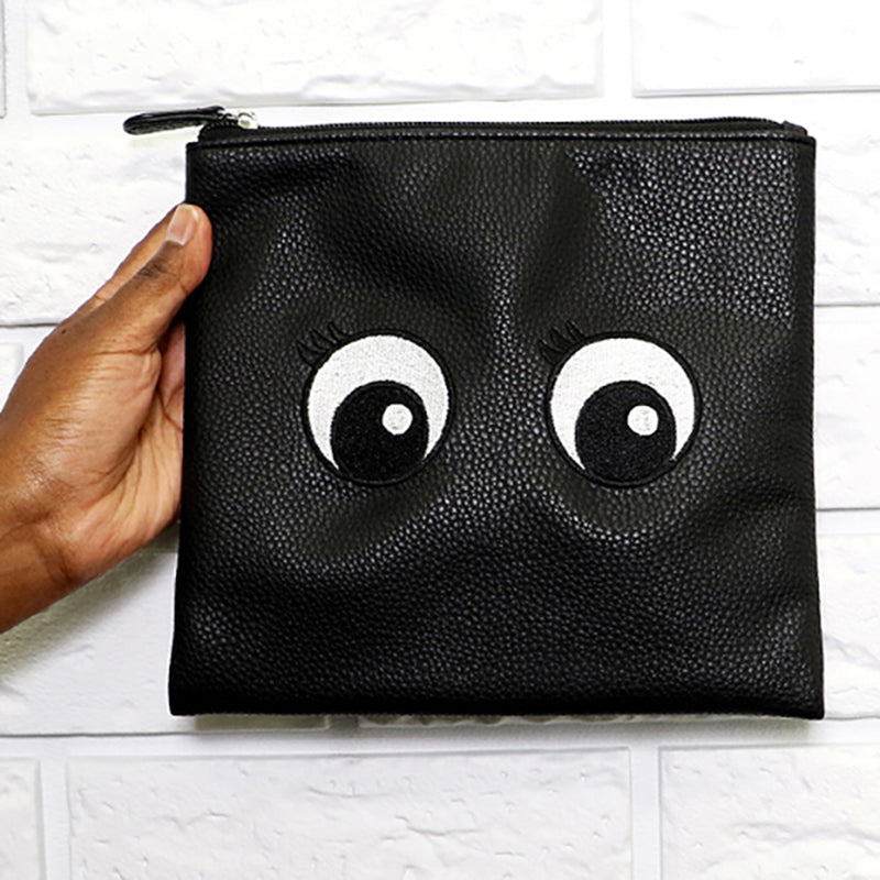 Nudestix Pouch - Cartoon eyes
