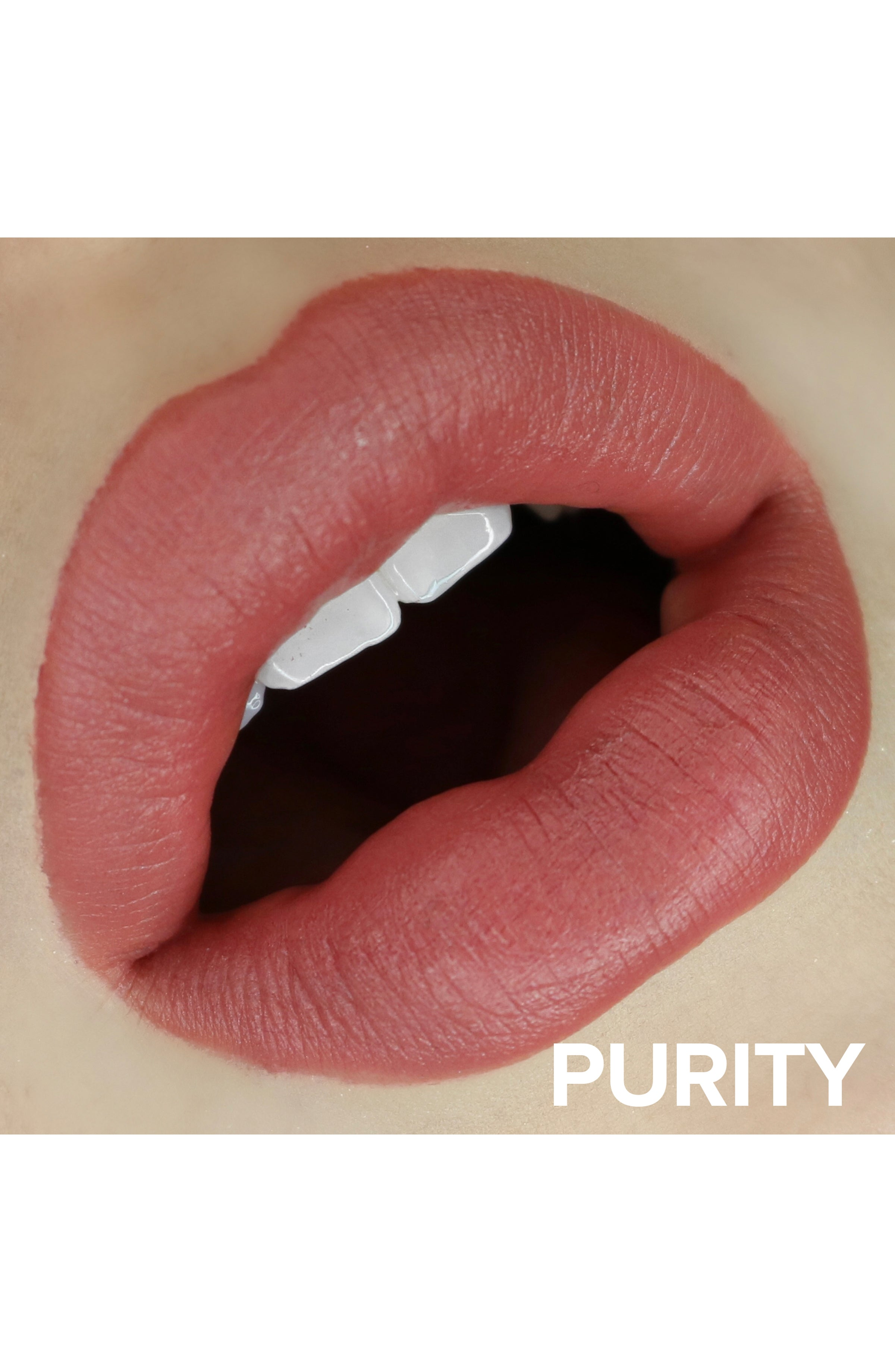 intense matte lip + cheek in purity