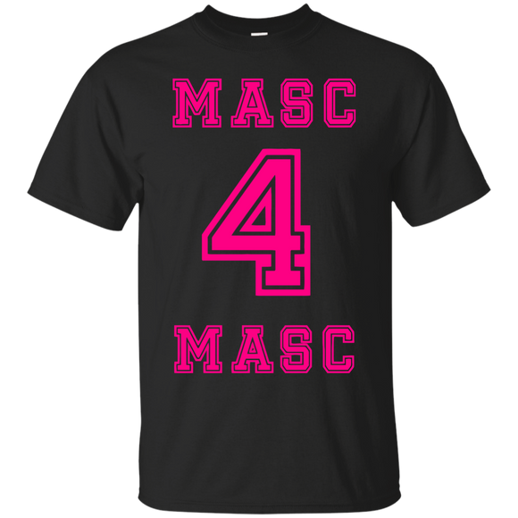 Masc 4 Masc t shirt mockup - Style G200 Gildan Ultra Cotton T-Shirt - Color Black