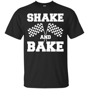 Shake and Bake t shirt mockup - Style G200 Gildan Ultra Cotton T-Shirt - Color Black
