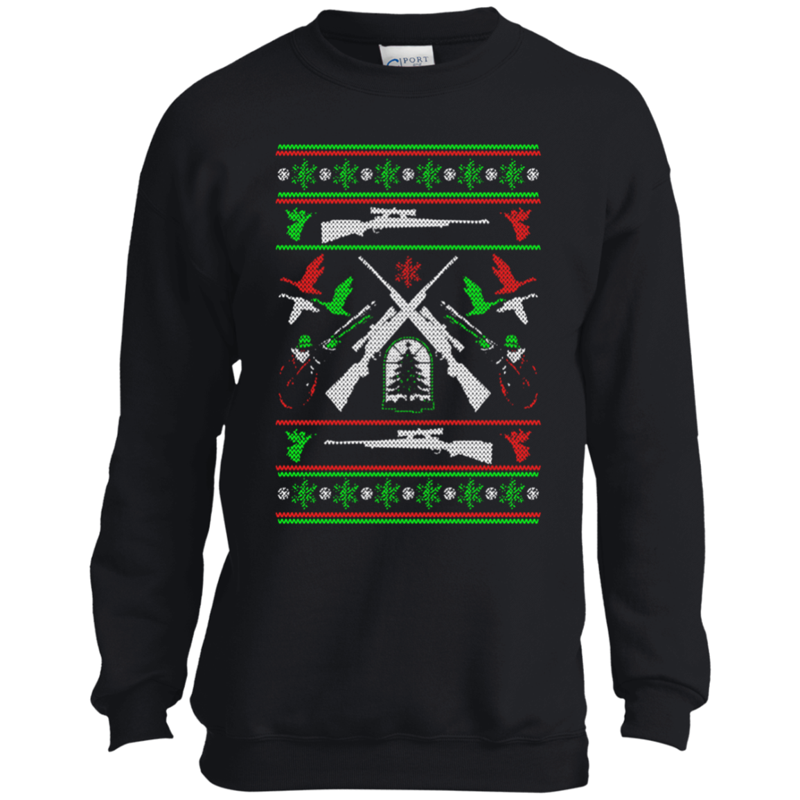 Buy Hunting Ugly Christmas Sweater T-shirt at 10% Off - iSkyTee