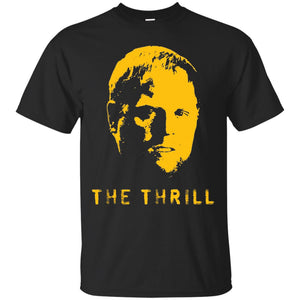 Phil The Thrill t shirt mockup - Style G200 Gildan Ultra Cotton T-Shirt - Color Black