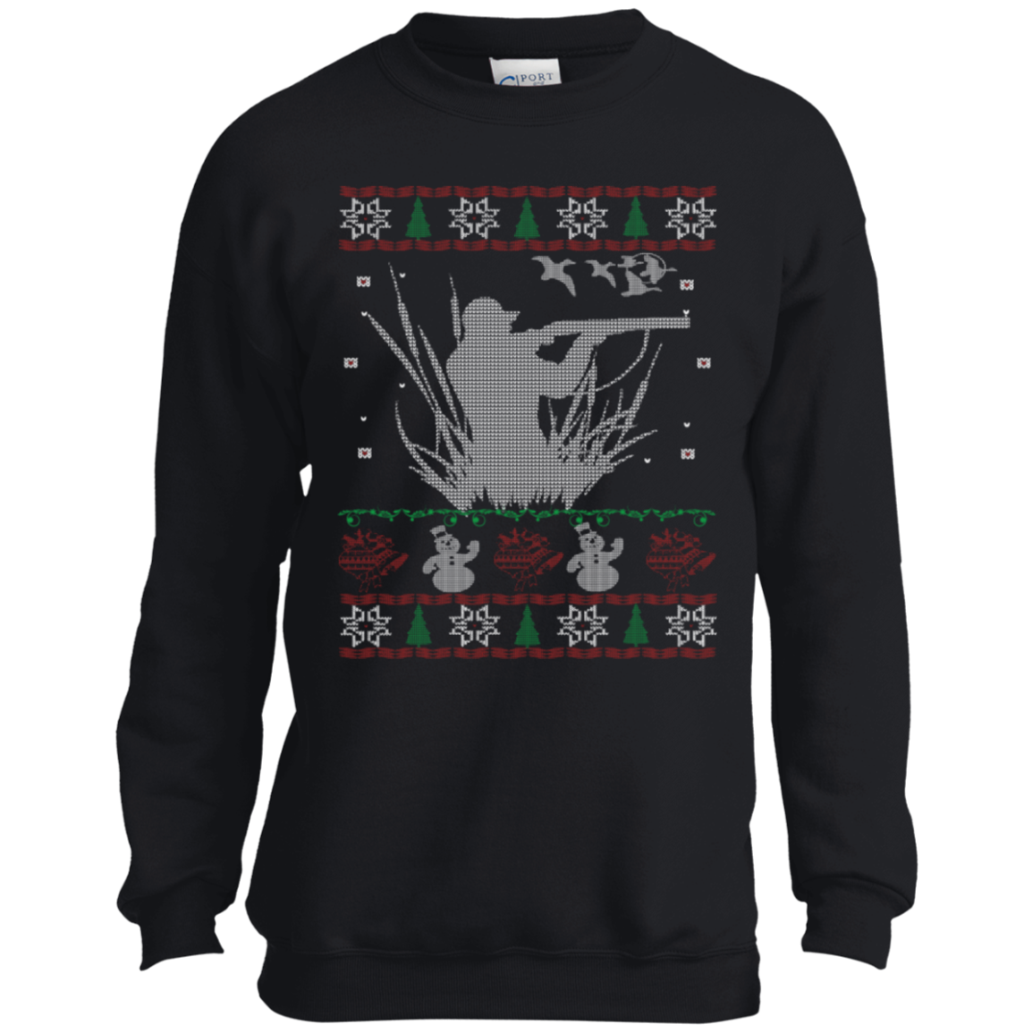 Buy Duck Hunting Ugly Christmas Sweater T-shirt at 10% Off - iSkyTee