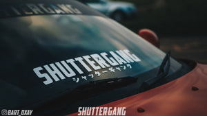 Shuttergang Squad Roll Out