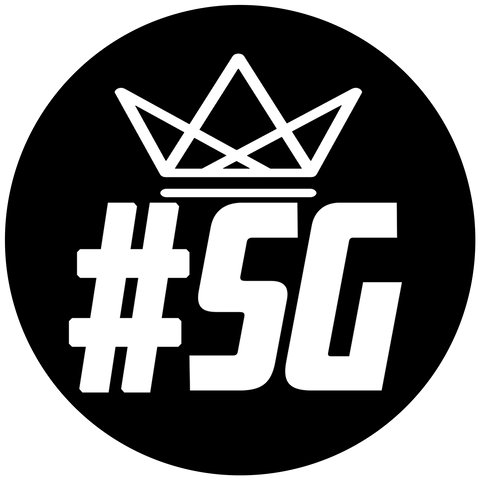 #SG Crown Sticker