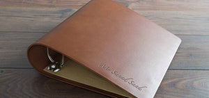 Leather Surgical Portfolio Ring Binder