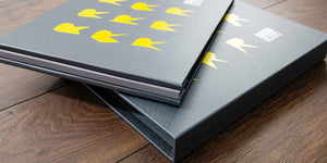 photographers photography portfolio book and slipcase cover