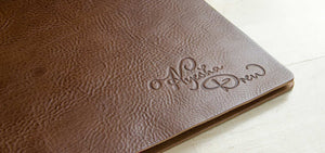 leather portfolio book a3 landscape