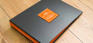 bespoke business visitors book binder