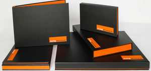 portfolio boxes A4, A3, A2 custom made as presentation portfolios
