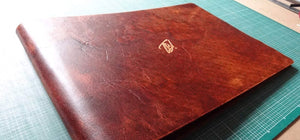 Leather Portfolio for Photographer
