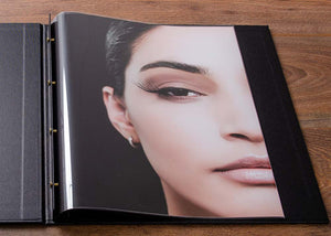 high clarity print and page sleeves for photographers