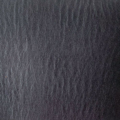 3.5mm black leather sample