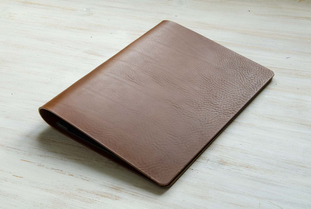 leather presentation portfolio binder custom made