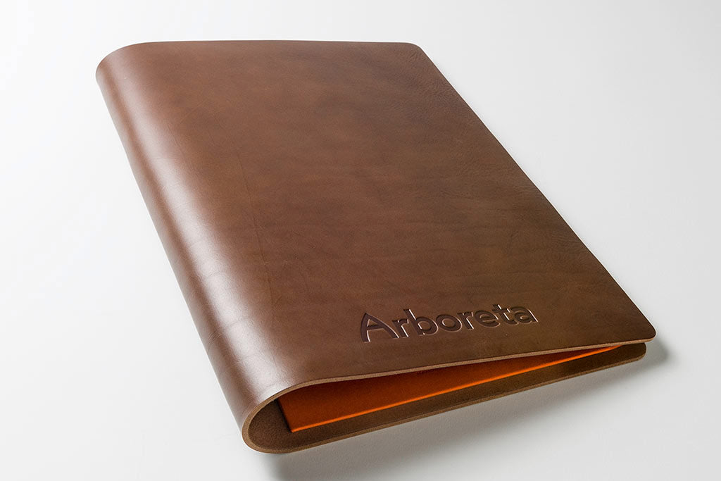 A4 Leather Screw Post Portfolio Book