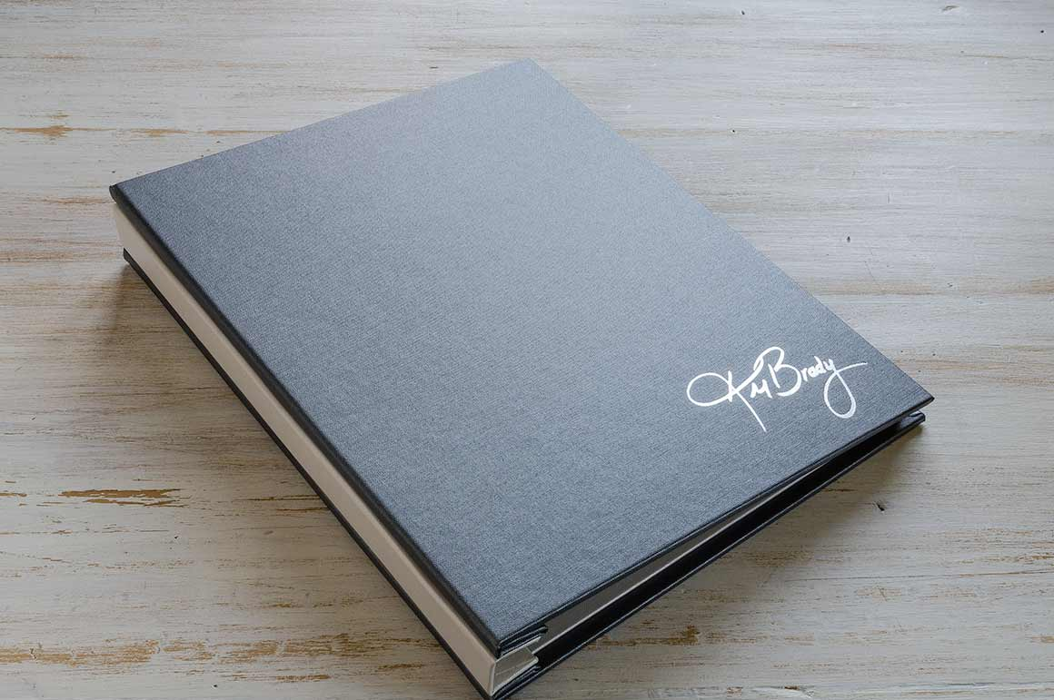 Image of Foil Embossed Personalisation on Student Presentation Binder