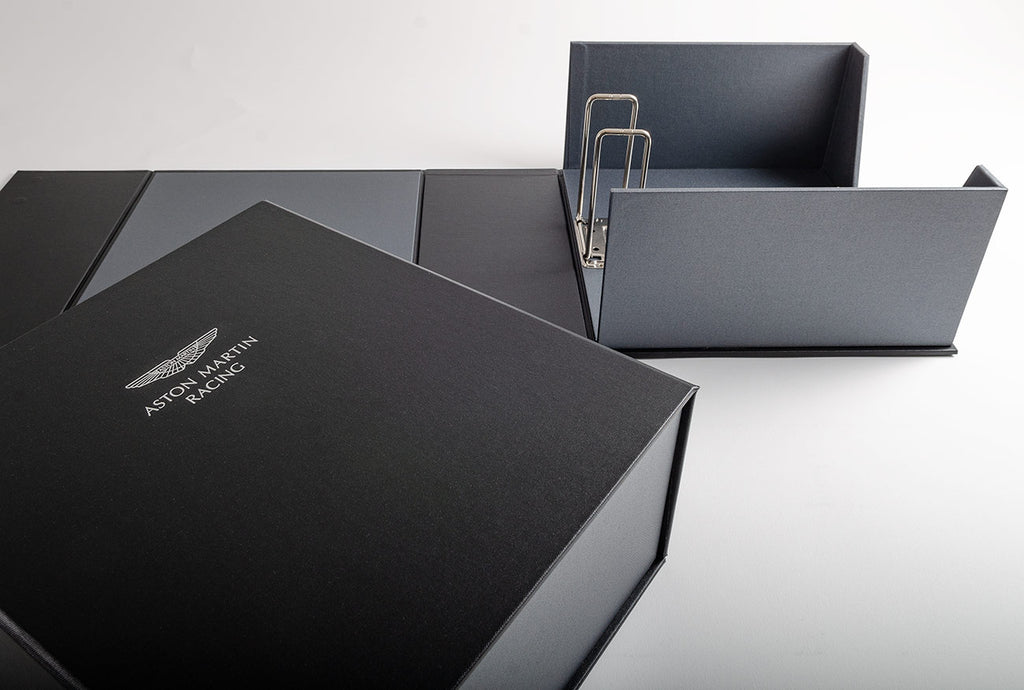 Half clamshell box file with 12cm Super Binder Mechanism