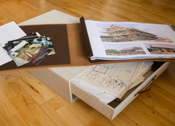 A bespoke Box and Album top Record the Building and Renovation of Project